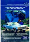 Ford Crown Victoria LTD for 1983 ad