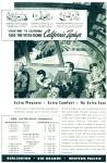 Click here to enlarge image and see more about item R8601: 1947 California Zephyr train ad