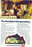 Click here to enlarge image and see more about item R8651: General Motors Motorhome ad - 1977