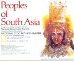 Peoples of South Asia Map - 1984