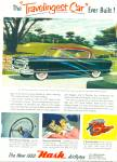 Click here to enlarge image and see more about item R8778: 1953 NASH AIRFLYTES Ambassador CAR AD