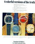 Accuatron by Bulova watches ad - 1971