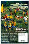 Click here to enlarge image and see more about item R8805: Winnebago motor home ad 1971
