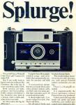 Click here to enlarge image and see more about item R8961: Polaroid color pack camera ad 1967