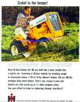 Click here to enlarge image and see more about item R8969: International Harvester Company  Cadet tracto