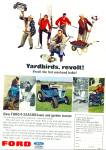 Click here to enlarge image and see more about item R8971: Ford tractors ad 1966