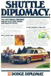 Click here to enlarge image and see more about item R8986: Dodge Diplomat ad  - 1978
