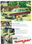 Dodge Coronet 500 wagon ad for 1968