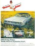 Click here to enlarge image and see more about item R8994: Dodge Polara for 1969 ad