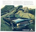 Chrysler New Yorker  automobile ad 1968