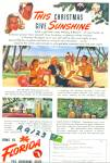 Florida travel brochure ad 1947