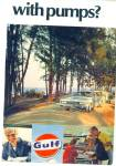 Click here to enlarge image and see more about item R9141: Gulf Gasoline ad 1968