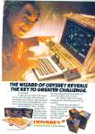 1982 Print Ad Magnavox Odyssey 2 Video Game Computer