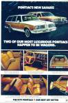 Click here to enlarge image and see more about item R9241: Pontiac station wagons for 1979