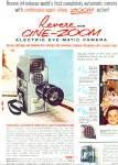 1959 Revere 8 MM cine zoom camera ad