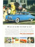 New 1950 Studebaker automobile