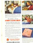 1946 General Electric  Blanket AD Cute Couple
