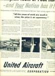 Click here to enlarge image and see more about item R9430: United Aircraft corporation ad