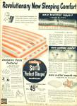 Click here to enlarge image and see more about item R9451: Serta Perfect sleeper mattress ad 1949