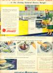 Click here to enlarge image and see more about item R9514: General Electric electric range ad 1947