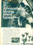Johnson's Sea Horse motor ad 1967