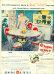General Electric plastics topped table ad