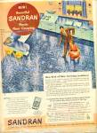 Sandran floor covering ad 1949