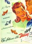 Click here to enlarge image and see more about item R9596: Vitality shoes ad  1943