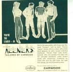 Carwood  Teeners  ad   1963