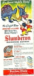 1951 Slumberon Mattress AD BurtonDixie DRAGON