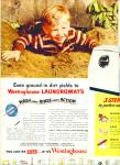 Click here to enlarge image and see more about item R9705: Westinghouse laundromats ad 1951