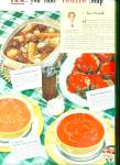 Click here to enlarge image and see more about item R9719: Campbell's Tomato soup ad 1951 TASTIER STEW