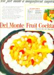 Del Monte Fruit cocktail ad 1951