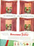 Click here to enlarge image and see more about item R9746: Firestone Velon ad  1951