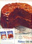 Click here to enlarge image and see more about item R9752: Pillsbury Cakes mixes ad 1951