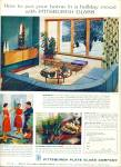 Click here to enlarge image and see more about item R9787: Pittsburgh Plate Glass company ad 1958