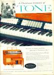 Click here to enlarge image and see more about item R9792: Baldwin organs and pianos ad 1958