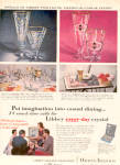 1956 Libbey ROYAL FERN SEVILLE ++ Glass AD