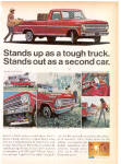 Click here to enlarge image and see more about item sa1027: 1968 Ford Pick-up truck Ad