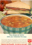 1964 Campbell's vegetable soup ad