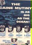 Click here to enlarge image and see more about item SCH101: 1954 Humphery Bogart Caine Mutiny Movie Ad