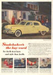 Click here to enlarge image and see more about item ST98: 1949 Studebaker Land Cruiser AD