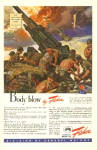 1943 Body Blow Anti Aircraft Gun Fisher AD