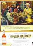 1958 -  Old Crow bourbon ad