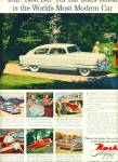 1951 -  Nash Airflyte auto ad