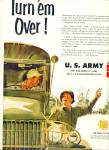 Click here to enlarge image and see more about item Z10031: 1951 - U. S. USAAF Army ad RECRUITMENT - Art by Kling