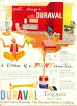 1952 - Duraval - a texolite paint product ad