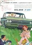 1962 -  Oldsmobile F-85 auto ad