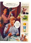 Click here to enlarge image and see more about item Z10191: 1980 -  Lysol spray ad  HARVEY KORMAN