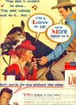 1959 -  L & M cigarettes - JAMES ARNESS